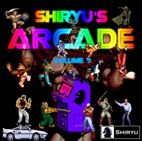 S A Volume 9 shiryu s arcade volume 9 ost