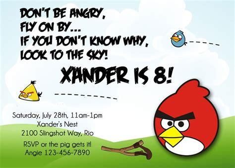 free printable birthday invitations angry birds birds invitation printable angry birthday invite