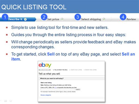 ebay quick sell ebay for fun or profit workshop danna crawford