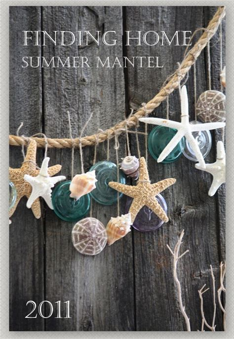 summer decorating ideas finding home farms summer mantel finding home farms