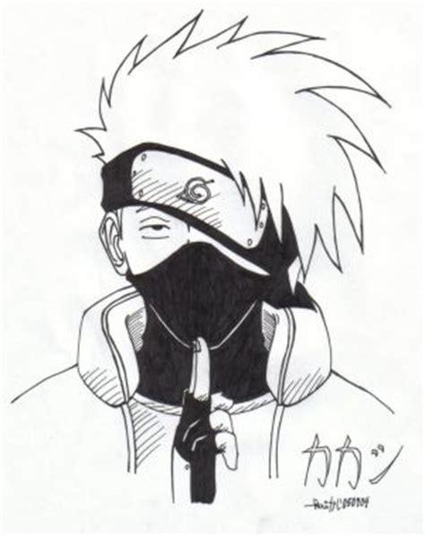 Pencil Kakashi Sai Anime صور كاكاشي kakashi