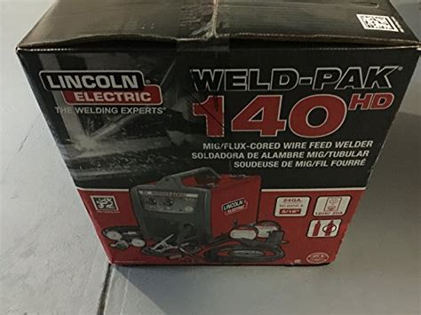 lincoln electric mig pak 140 wire feed welder lincoln electric weld pak 140 hd wire feed welder k2514 1