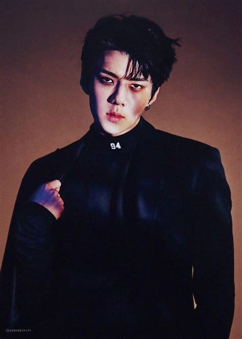 2017 Fashion Color Trends by Exo S Sehun Chopped Off His Hair And It Looks Absolutely