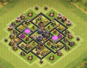 th7 layout update th7 farming base with 3 air defenses cocbases