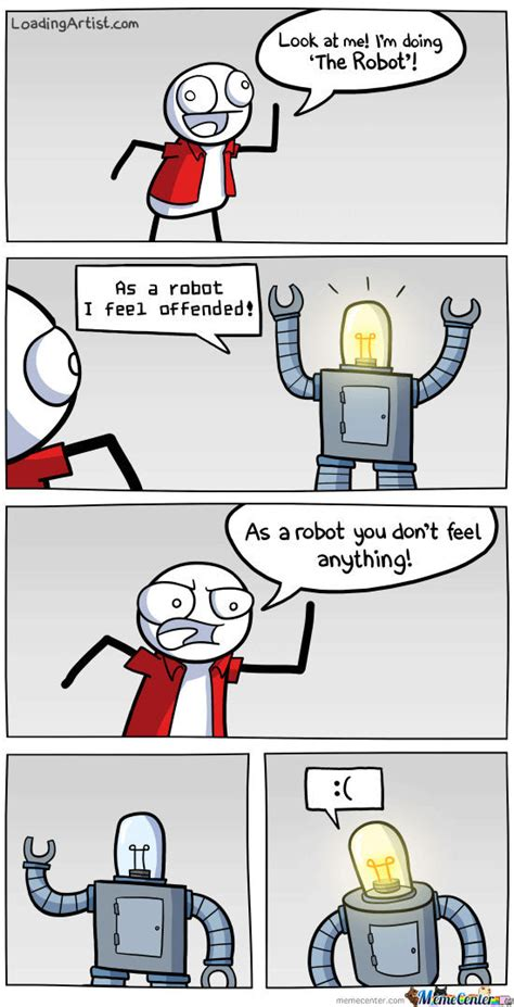 Robot Meme - do the robot by loadingartistcom meme center