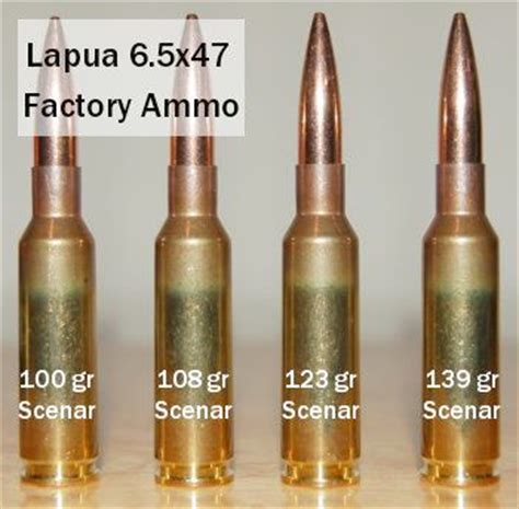 lapua 6 5 215 47 factory ammo tests 171 daily bulletin