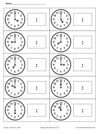 telling time gram 225 tica pinterest world for the and