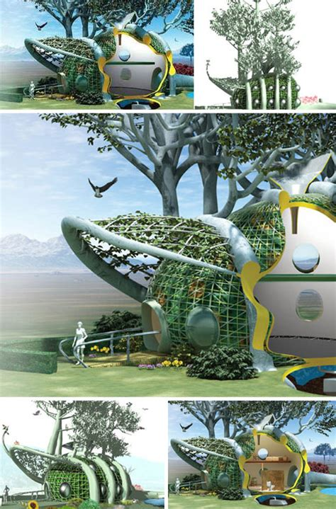 home design articles organic self growing house design urbanist
