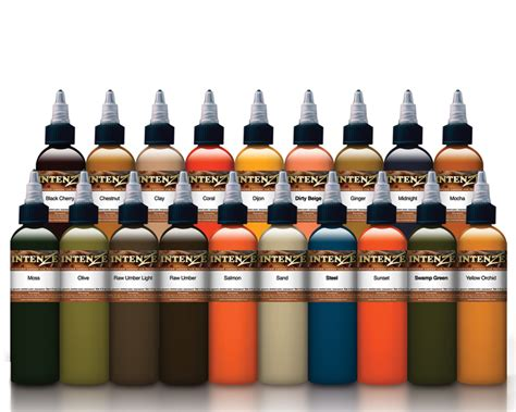 intenze tattoo ink sets mike demasi color portrait set intenze ink sets