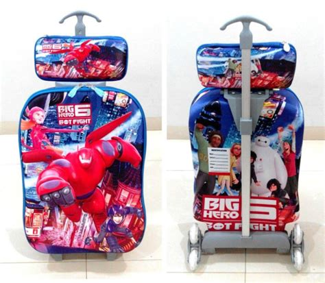 Tas Travel Trolley Hello 01 tas sekolah import travel bag hello import grosir