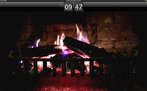 fireplace screensaver mac os x 10 6