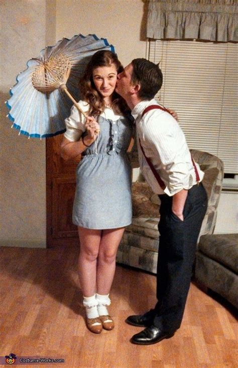 7 Costume Ideas For Couples by Darla And Alfalfa Costume Idea