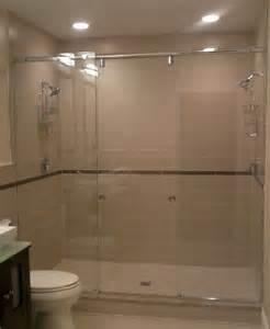 Bath Shower Head Boston Master Bath With Dual Shower Heads Contemporary