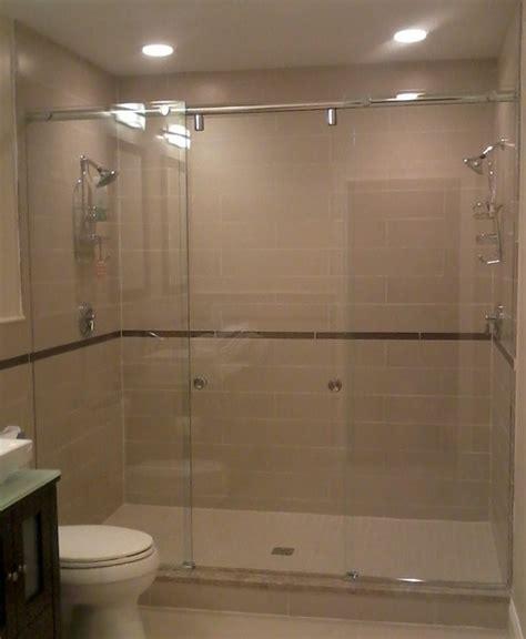 Boston Master Bath with dual shower heads Contemporary Bathroom boston by Allstate