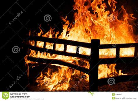 burning bed burning bed stock photography image 22830602
