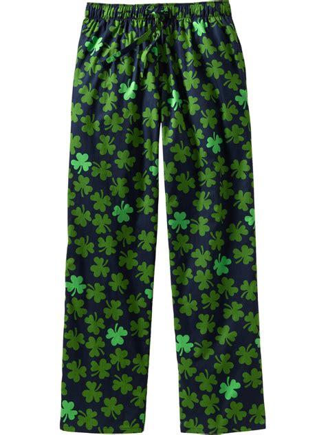 navy patterned jeans old navy patterned pj pants in green for men shamrock