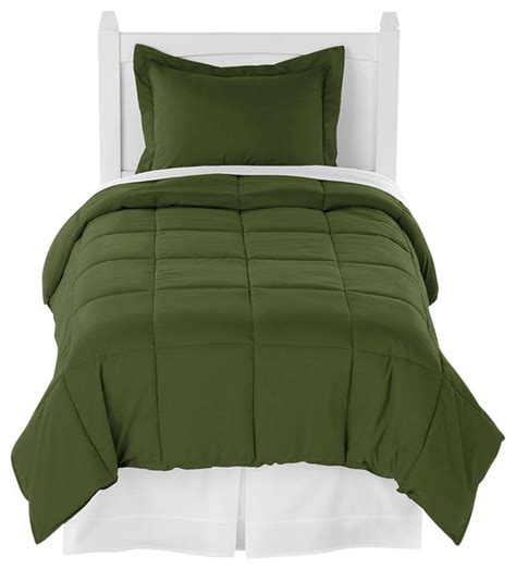 army comforter ivy union cypress army green twin xl comforter set