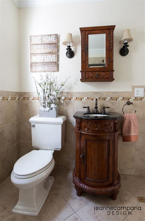 rustic chic bathroom before and after rustic chic bathroom jeanne cana design
