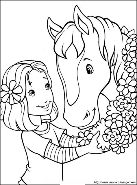 Coloring Horse Page Pretty Flowers As T Pretty Coloring Pages
