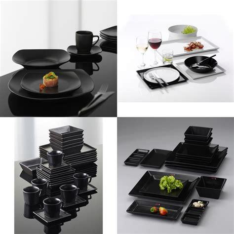 Schwarzes Geschirr Set by Schwarz Geschirr Ess Wohnzimmer Gedeckter Tisch