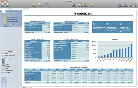 report template for mac numbers iwork numbers alternatives and similar software