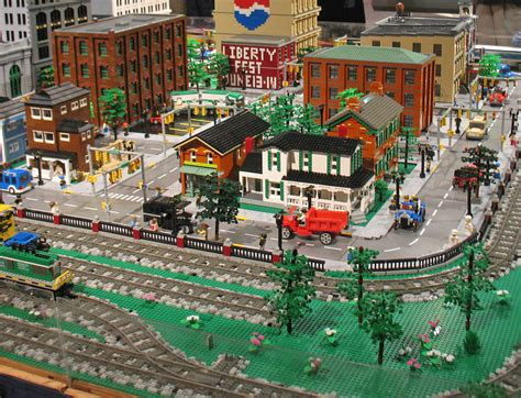 lego layout software michltc lego city and train layout at the henry ford
