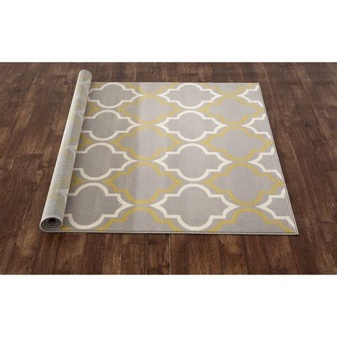 rug world world rug gallery newport gray yellow area rug reviews wayfair