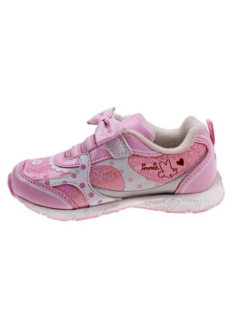 light up minnie mouse minnie mouse bow light up sneakers