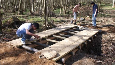 how to build a wooden bridge picnic table plans pdf building wood bridge over creek