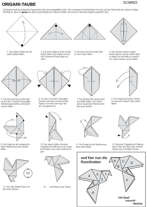 How To Make A Paper Dove Step By Step - faltanleitung jpg 1 172 215 1 651 pixels origami