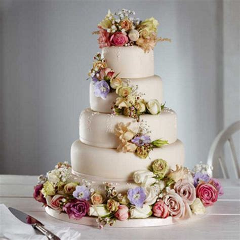 Amazing Wedding Cakes by Amazing Wedding Cake With Flowers