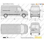 The Blueprintscom  Vector Drawing Nissan NV400 L1H1