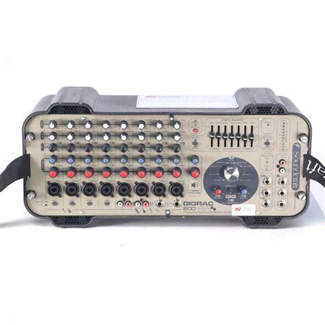 Power Lifier Soundcraft Soundcraft Gigrac 600 Powered Mixer Av Hire Ipswich Suffolk