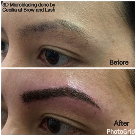 tattoo eyeliner seattle brow brow and lash eyebrow tattoo shaping waxing 3d