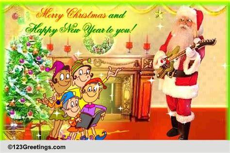 choose  christmas carol  jukebox ecards greeting cards