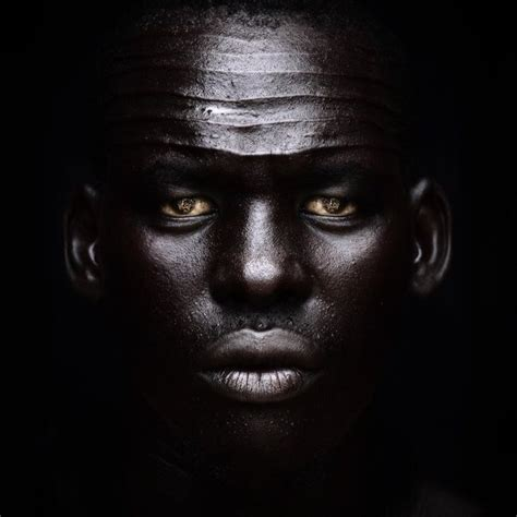 darkest skin color which region tribe country in africa has the darkest skin