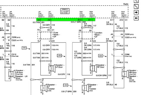 stereo wiring diagram 2004 gmc 37 wiring diagram