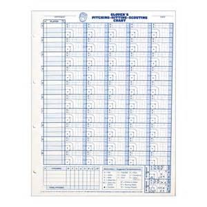 baseball pitching chart template softball pitching charts