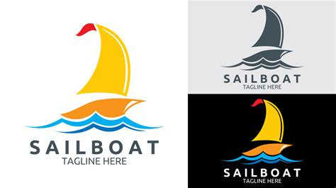 sailboat logo sailboat logo logos graphics