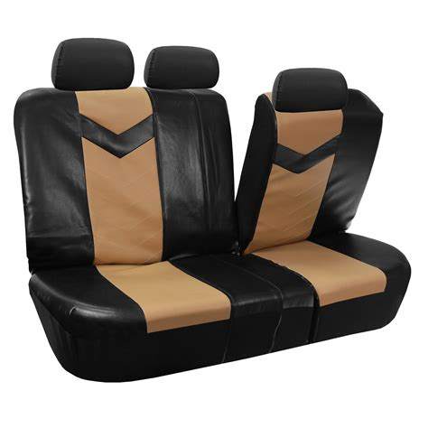 full bench seat covers synthetic leather full set auto seat covers air bag safe