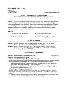 Resume Sample It Manager by It Project Manager Resume Template Premium Resume