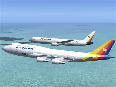 pacific air comfort air pacific boeing 767 300 dq fjc for fs2004