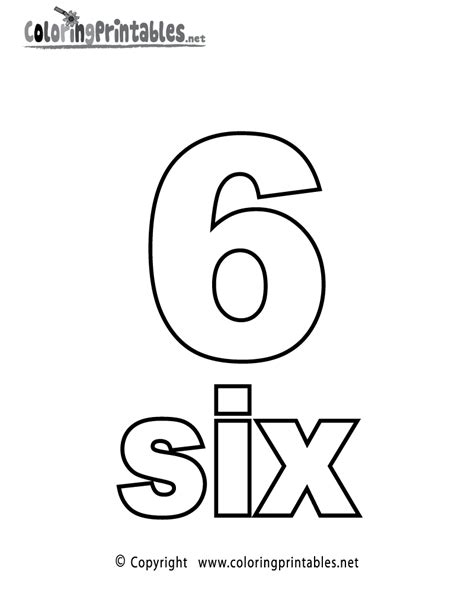 number  coloring page   math coloring printable