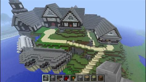 minecraft la invasian de le manoir minecraft youtube