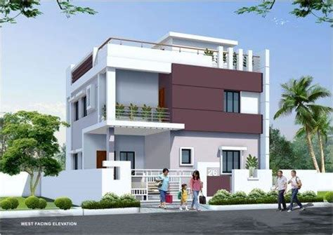 duplex house designs  india saeed   duplex house duplex house design front