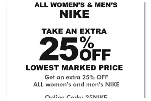 coupons for custom nike shoes