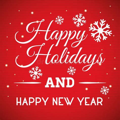 happy holidays  merry christmas card stock vector illustration  card christmas