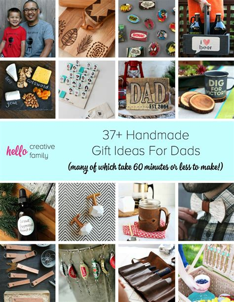 Handmade Present Ideas - 37 handmade gift ideas for dads many of which take 60