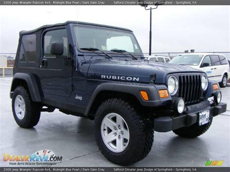 midnight blue jeep 2006 jeep wrangler rubicon 4x4 midnight blue pearl dark