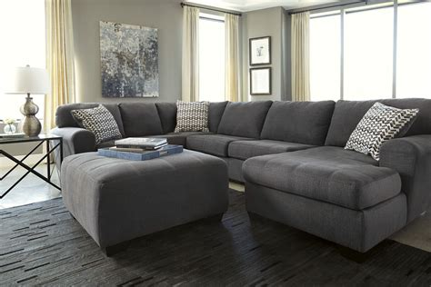 ashley raf sofa sectional sorenton slate raf sectional from ashley 2860017